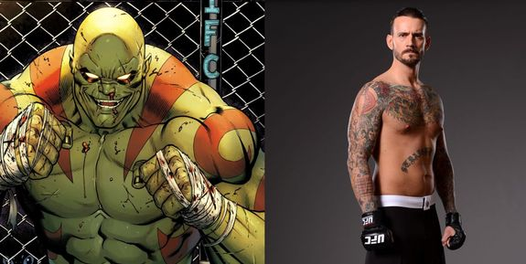 Drax the Destroyer and CM Punk