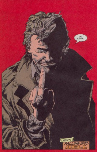 In true Constantine fashion this is how John would like to say goodbye......