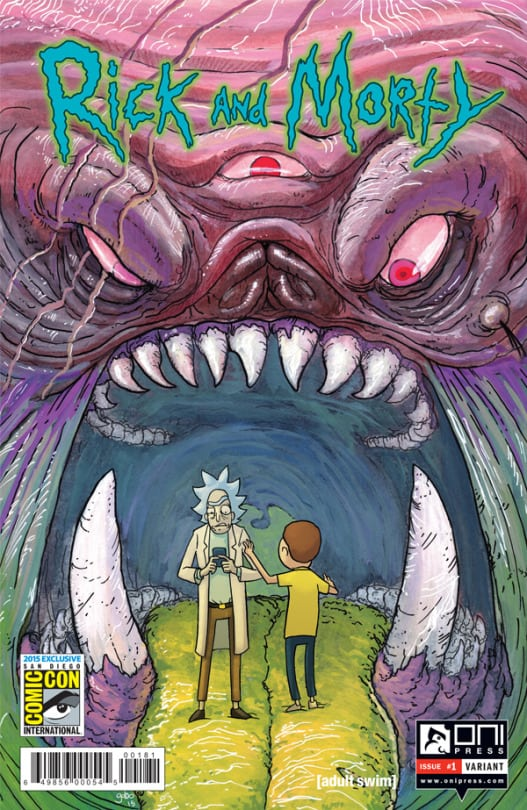 RIck and Morty sdcc