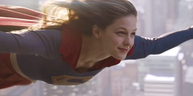 Melissa Benoist dons the cape of Supergirl