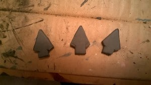 spearheads