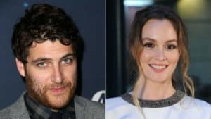 Adam Pally and Leighton Meester of Making History