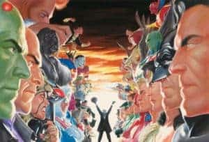 Absolute Justice Mini-Canvas by Alex Ross