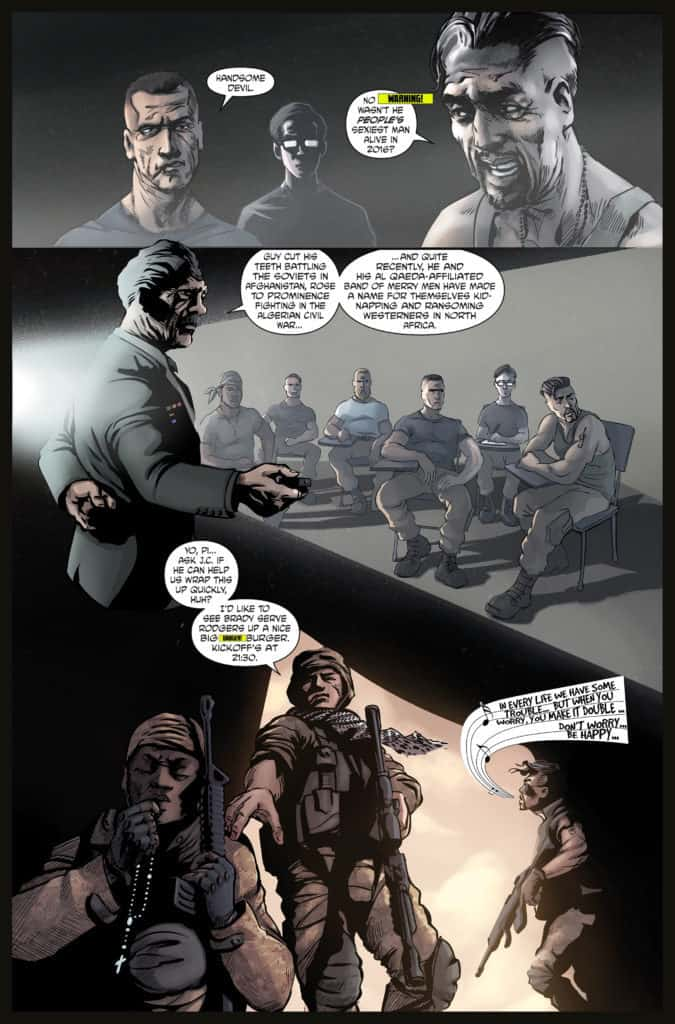 Aberrant issue #1 page 2