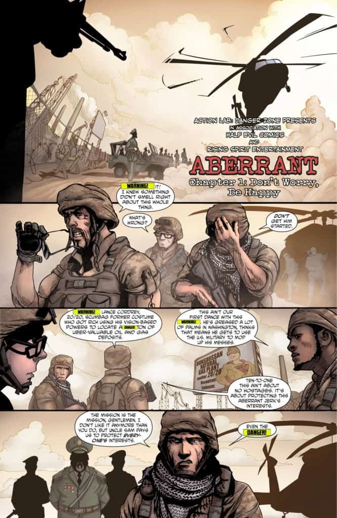 Aberrant issue #1 page 4