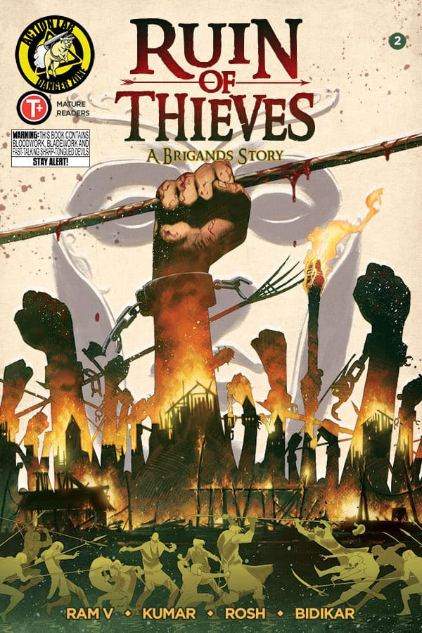 Brigands Ruin of Thieves #2 Cover A Kumar