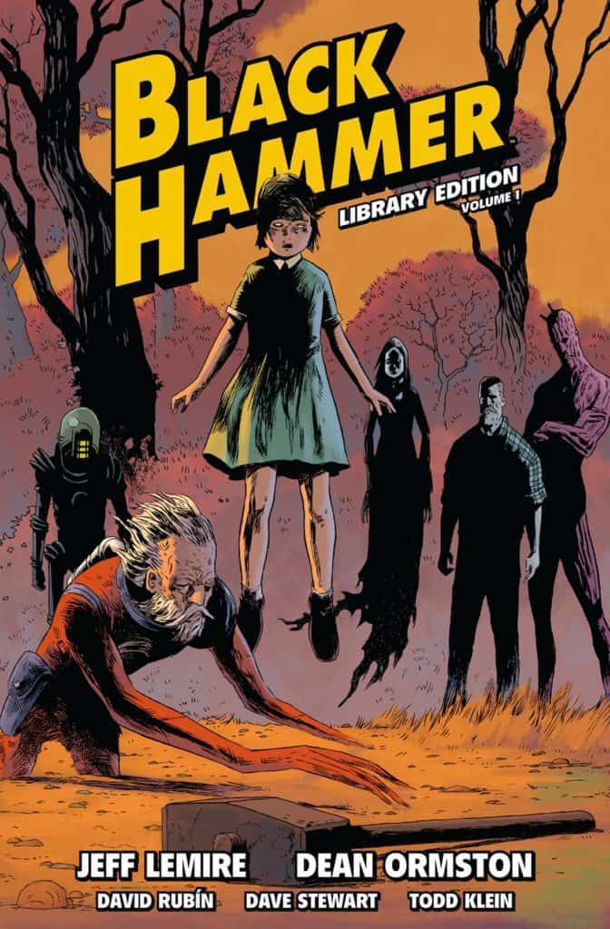 Black Hammer: Library Edition Vol. 1 cover