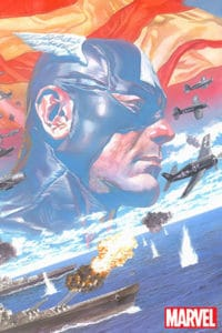 Captain America #1 - Main Cover by Alex Ross