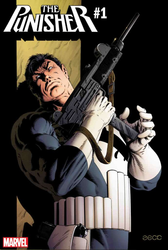Punisher #1 Variant Cover by Mike Zeck & Richard Isanove