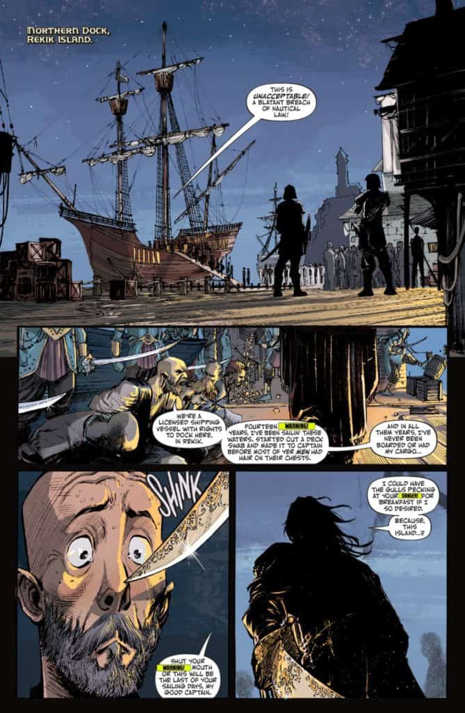 RUIN OF THIEVES A BRIGANDS STORY #1 - page 5