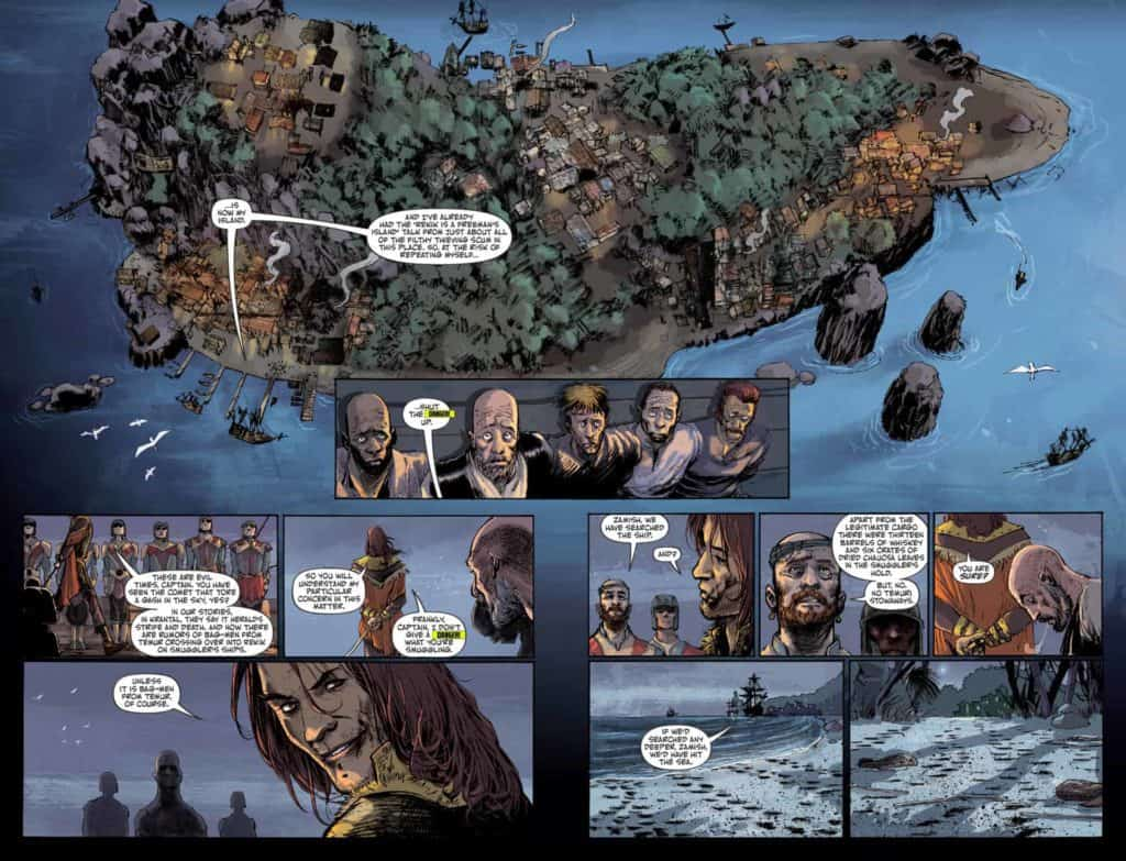 RUIN OF THIEVES A BRIGANDS STORY #1 - page 6