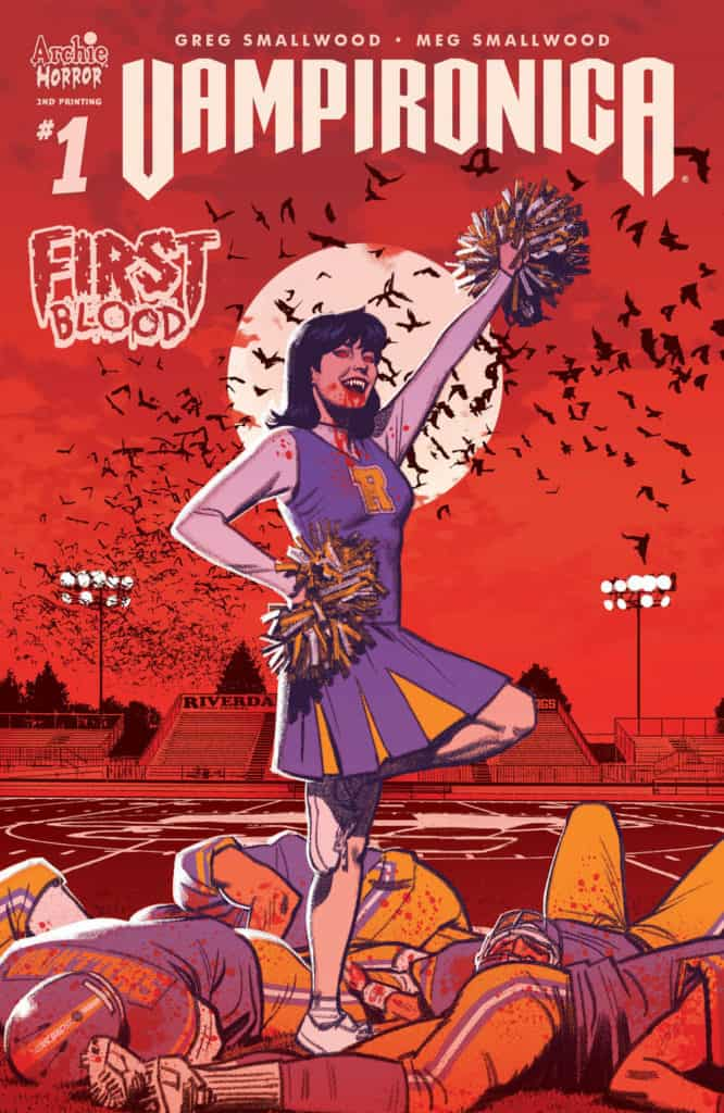 Vampironica #1 - Second Printing cover by Greg Smallwood