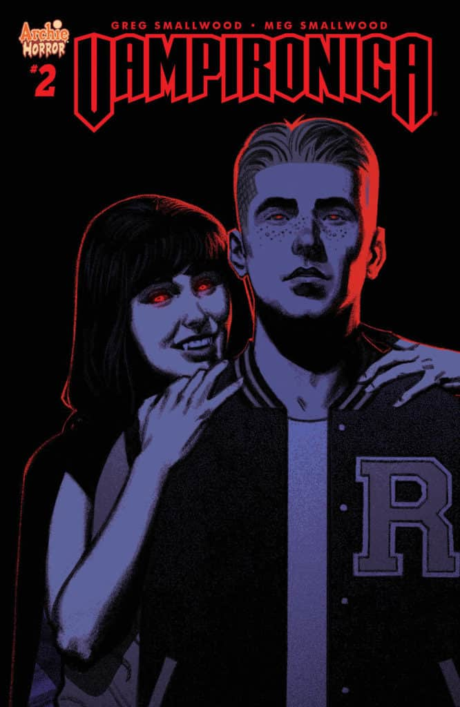 Vampironica #2 - Main Cover by Greg Smallwood