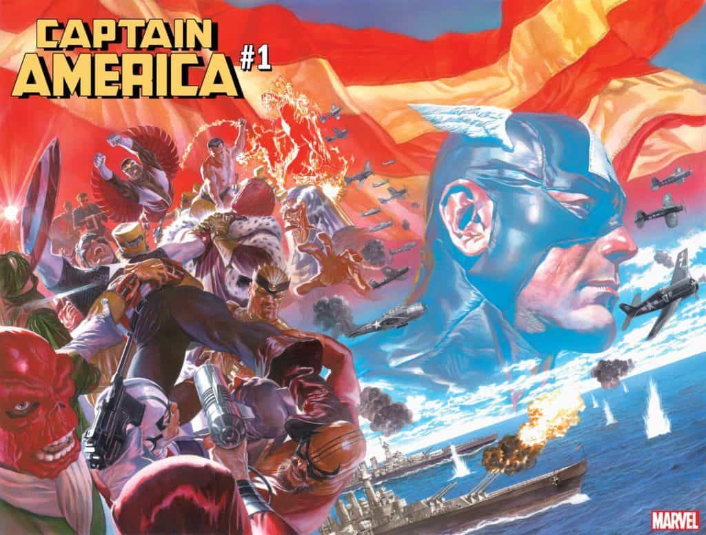 CAPTAIN AMERICA #1 MAIN ROSS CVR