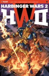 HARBINGER WARS 2 #2 (of 4) – Cover A by J.G. Jones