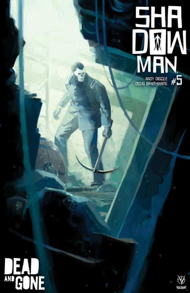 Shadowman #5 - Cover A by Tonci Zonjic