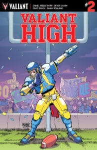 Valiant Hight #2 - Cover A by David Lafuente