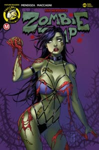 Zombie Tramp #48 - Cover C by Collette Turner