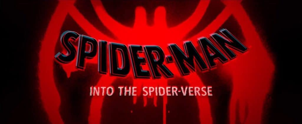 Spider-man: Into The Spiderverse poster