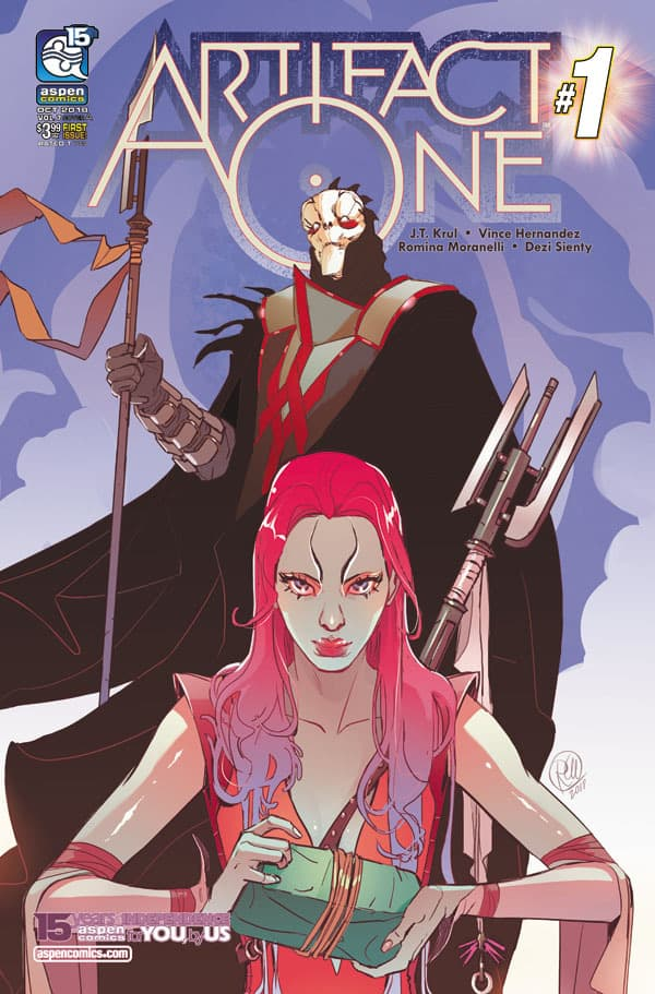 ARTIFACT ONE #1 - Cover A by Romina Moranelli