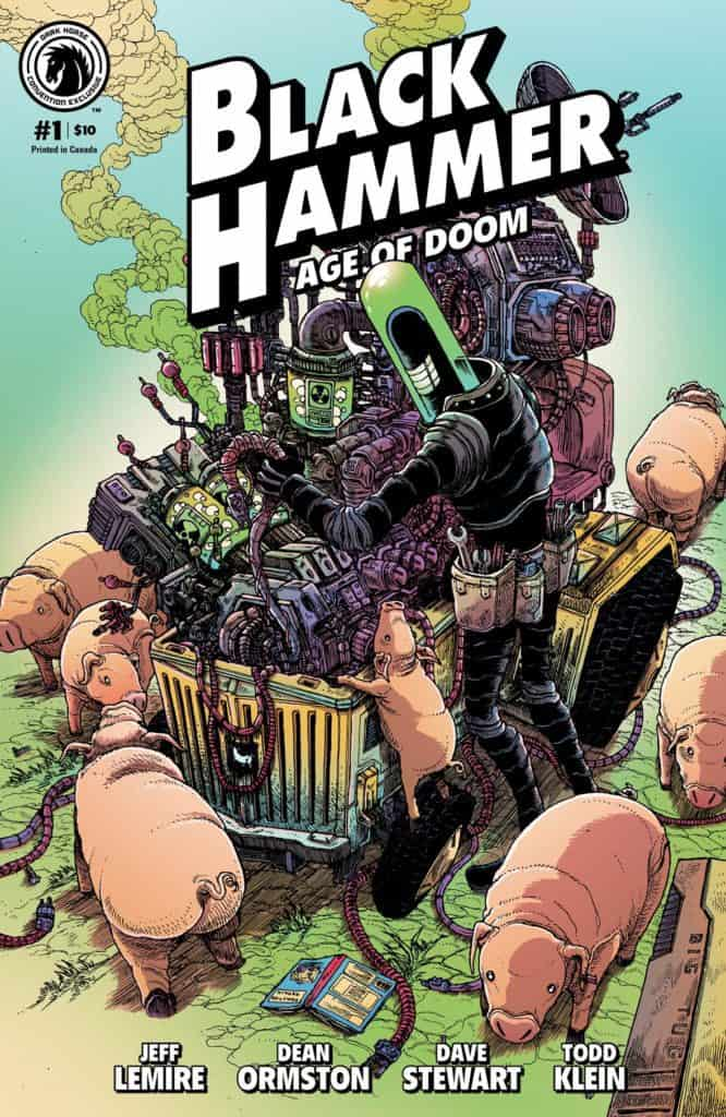 Black Hammer: Age of Doom #1 Convention Exclusive (James Stokoe)