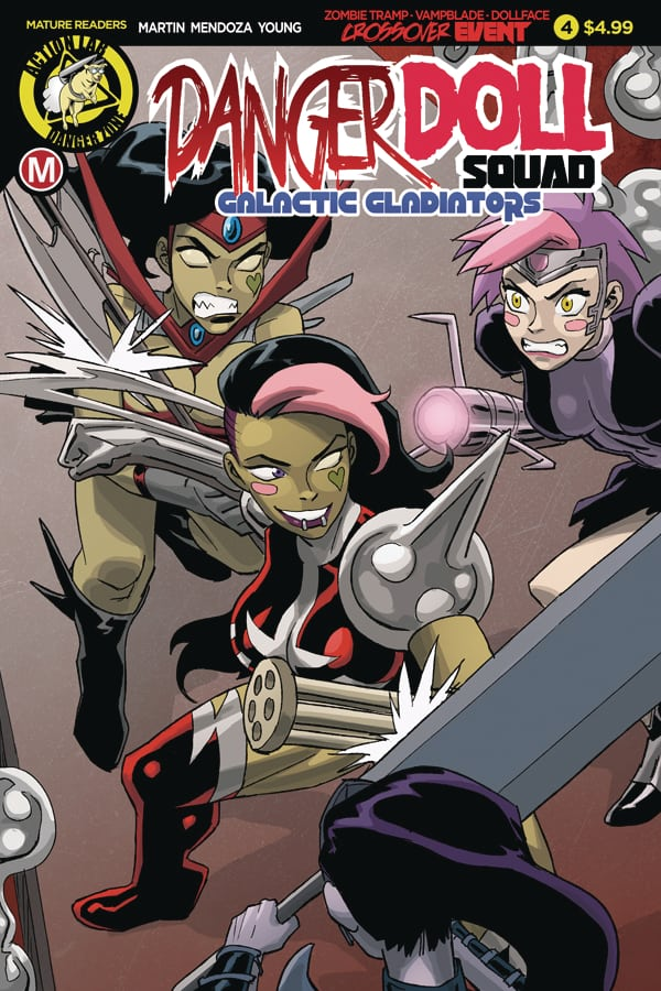 Danger Doll Squad Volume 2 #4 - Cover A by Winston Young