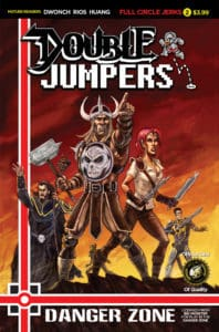Double Jumpers: Full Circle Jerks #2 Cover B