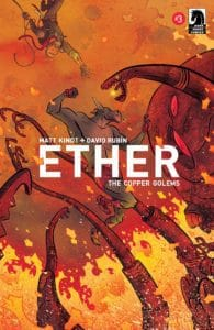 Ether: Copper Golems #3 - Main Cover by David Rubin