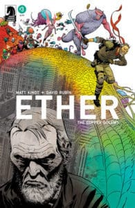 Ether: Copper Golems #3 - Variant Cover by Marcos Martin