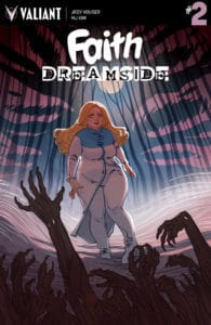 FAITH: DREAMSIDE #2 (of 4) - Cover A by Marguerite Sauvage