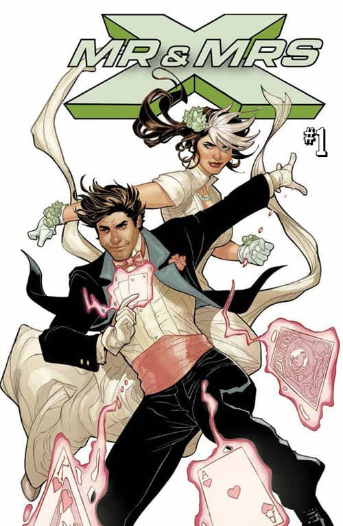 MR. & MRS. X #1 - Main Cover by Terry Dodson