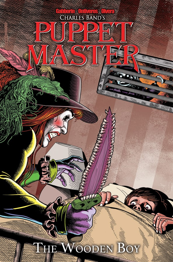 Puppet Master Volume 3 The Wooden Boy Cover