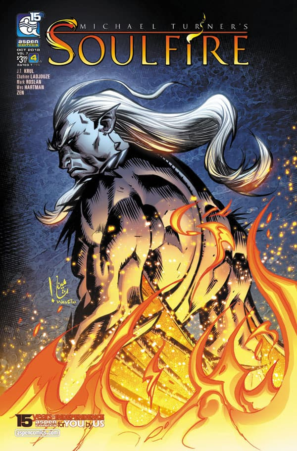 SOULFIRE Vol. 7 #4 - Cover A by Chahine Ladjouze