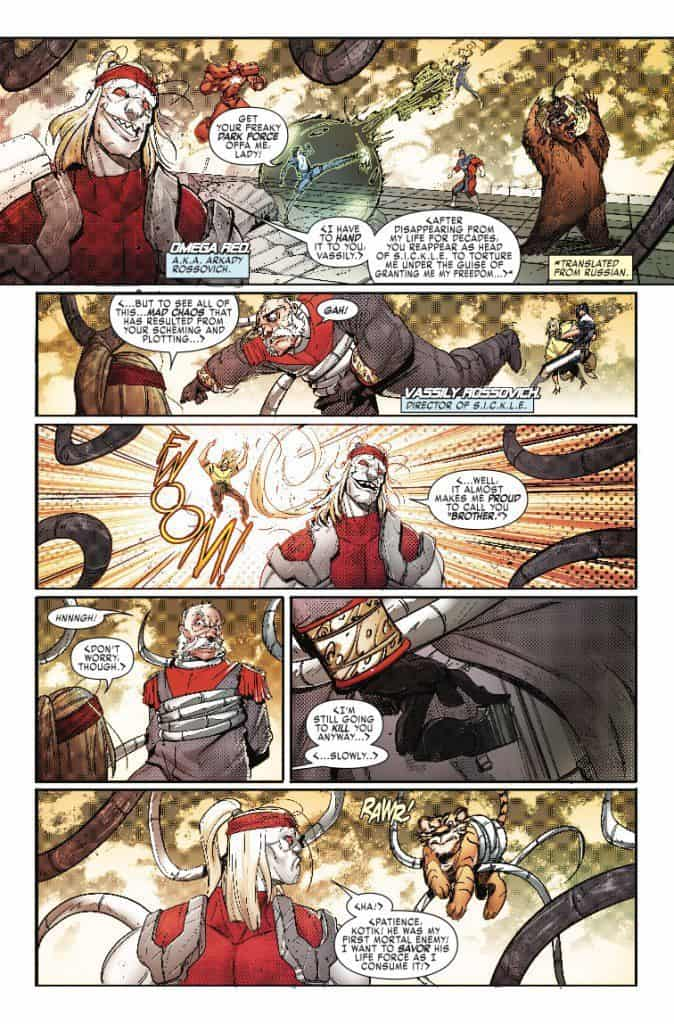 Weapon X #21 - preview page 5