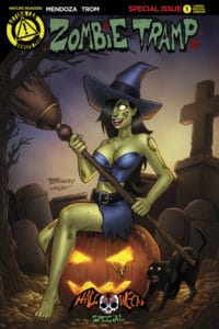 Zombie Tramp Halloween One-Shot Cover McKay Variant