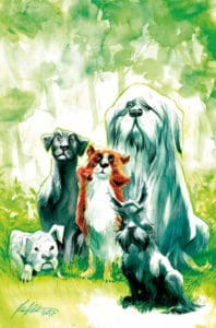 Beasts of Burden: Wise Dogs and Eldritch Men #1 Variant Cover by Rafael Albuquerque
