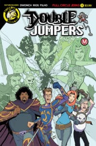 Double Jumpers: Full Circle Jerks #1 Cover A by Sergio Rios