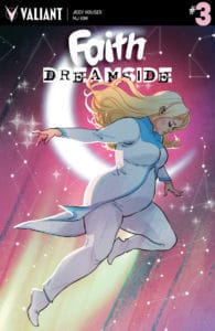 FAITH: DREAMSIDE #3 (of 4) - Cover A by Marguerite Sauvage