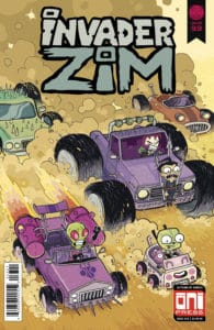 Invader ZIM #33 - Cover B by Tait Howard