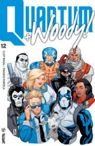 QUANTUM AND WOODY! (2017) #12 - Cover A by AJ Jothikumar