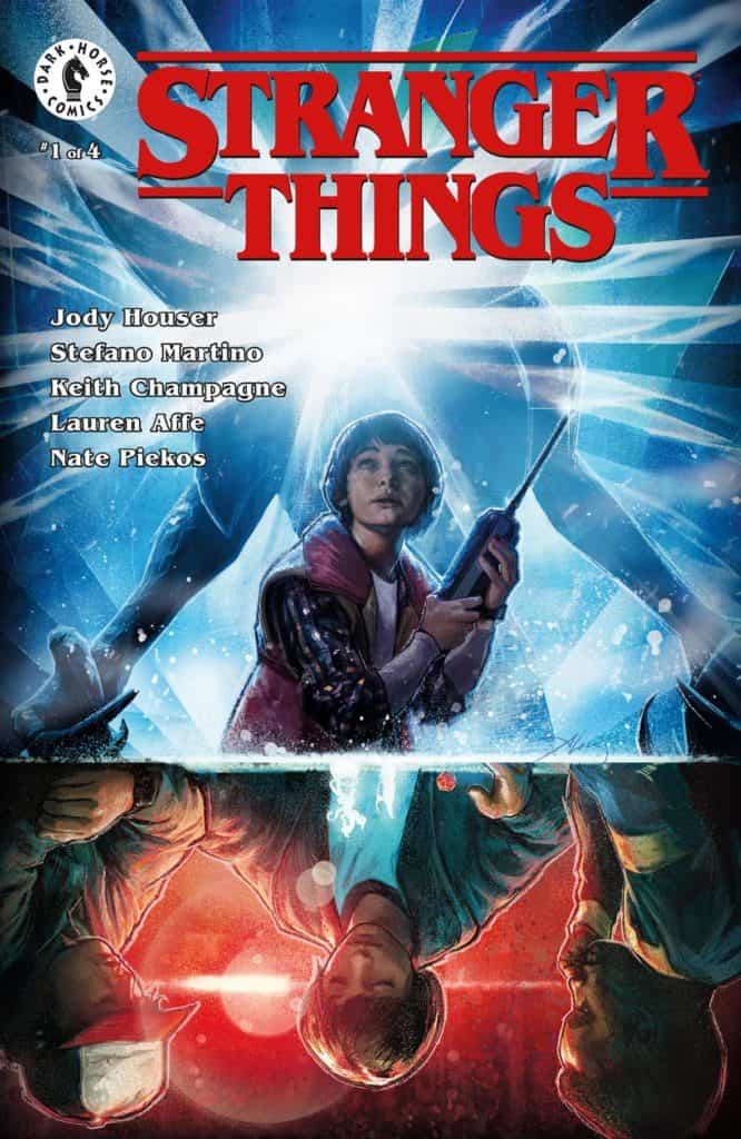 Stranger Things #1 - Main Cover by Aleksi Briclot