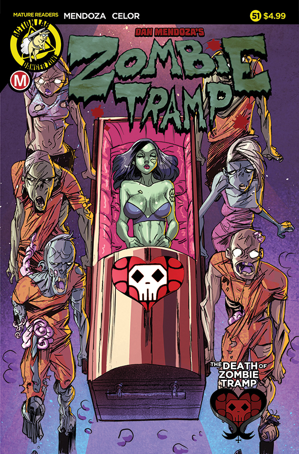 Zombie Tramp #51 Cover A Celor