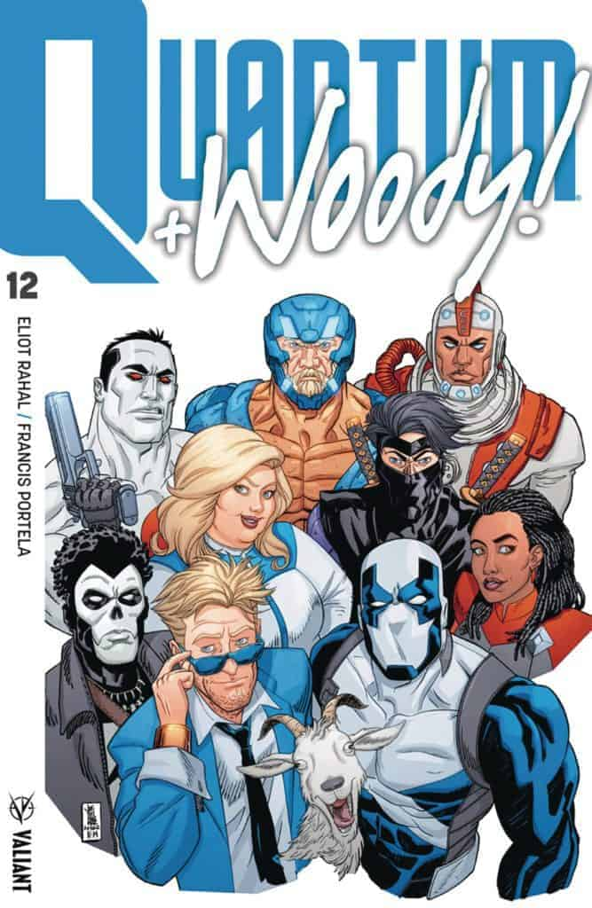 QUANTUM AND WOODY! (2017) #12 - Cover A by A.J. Jothikumar