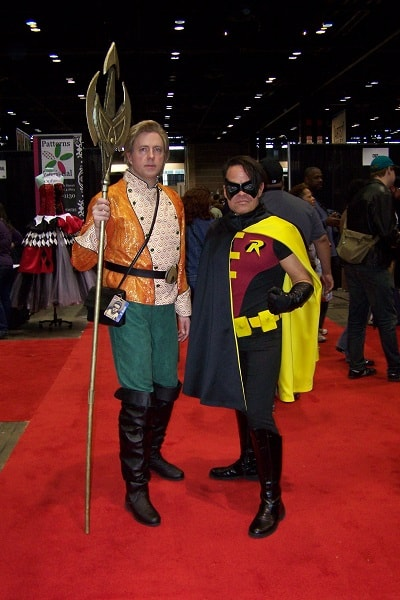 robin and aquaman