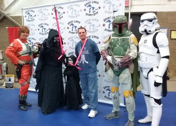Great Lakes Comic Convention 2016 by Todd Aiello