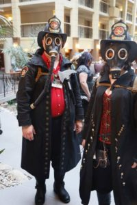 Steampunk Worlds Fair 2016 by  Past Indicator Nixie Clocks