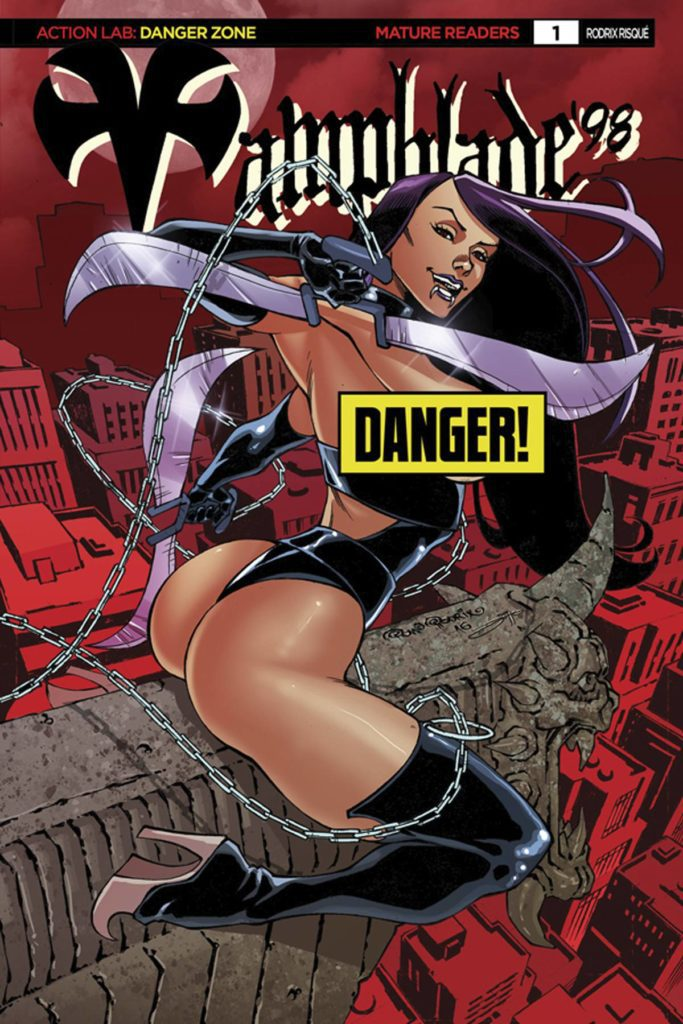 Vampblade 98 #1 – Cover D by Pow Rodrix (Risque)