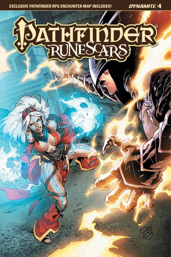 Pathfinder Runescars #4 – Cover C by Geraldo Borges