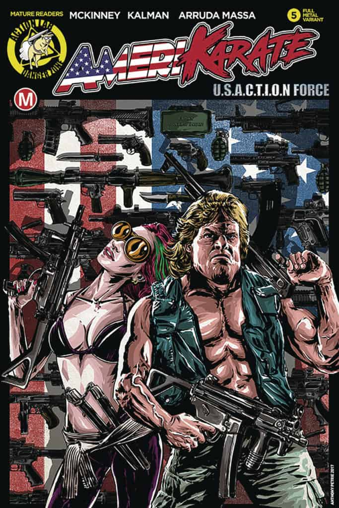 Amerikarate #5 – Cover C by Anthony Petrie
