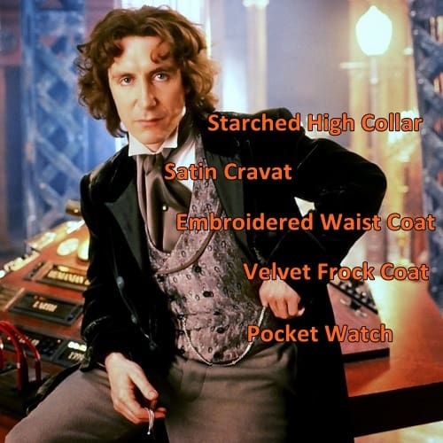 8th Doctor Costume
